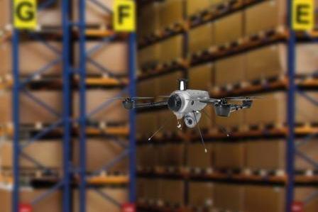 drone magazzino