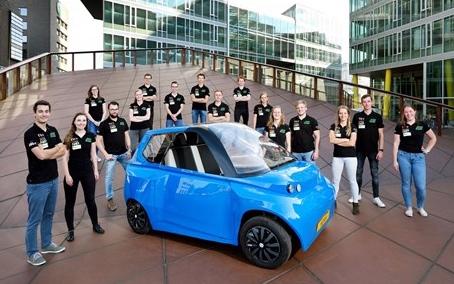 auto in PLA sviluppata da Technical University di Eindhoven