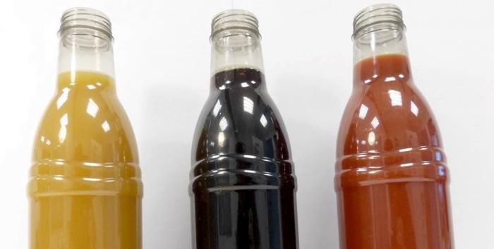 bottiglie PET con rPTA