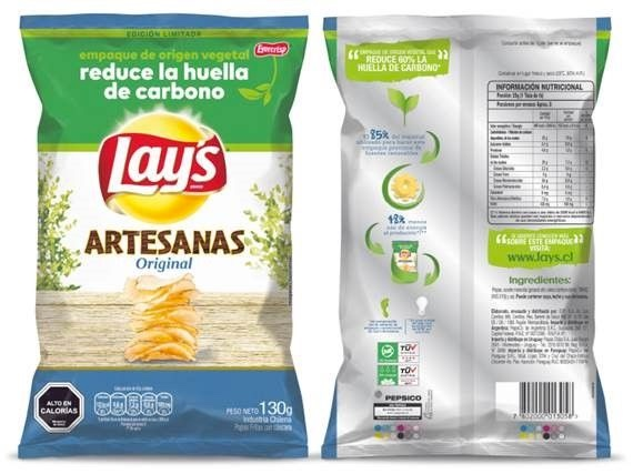 danimer Pepsico packaging compostabile per snack