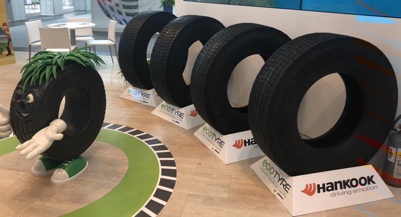 EcoTyre ecomondo pneumatici con PFU