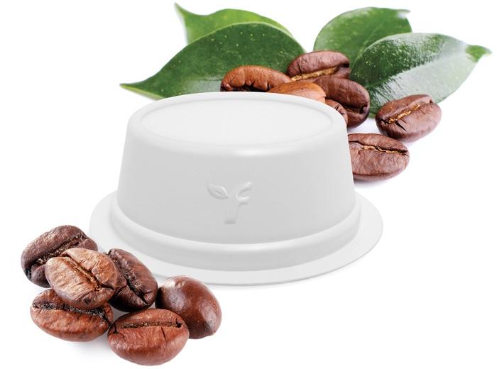 capsula caffè PLA Gea di Flo