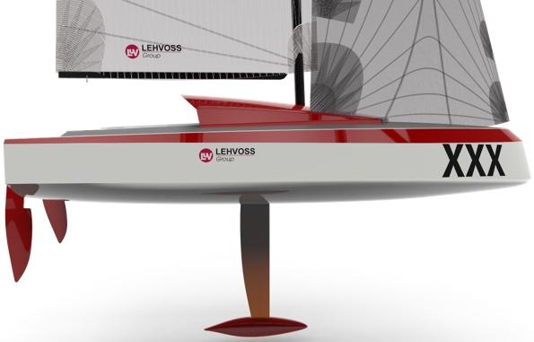 Levhoss barca vela stampata 3d