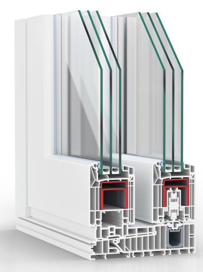Profilo PVC rehau