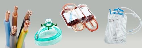 compound PVC applicazioni