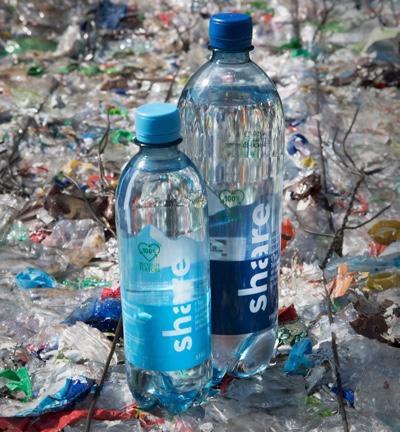 share bottiglia 100% rPET