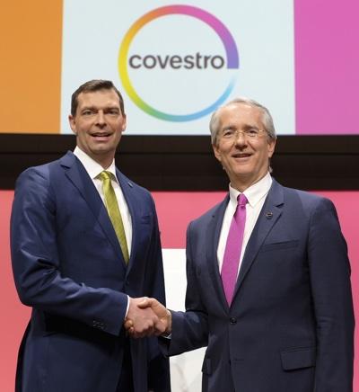 Covestro Patrick Thomas e Markus Steilemann