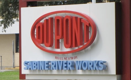 DowDuPont sabine river