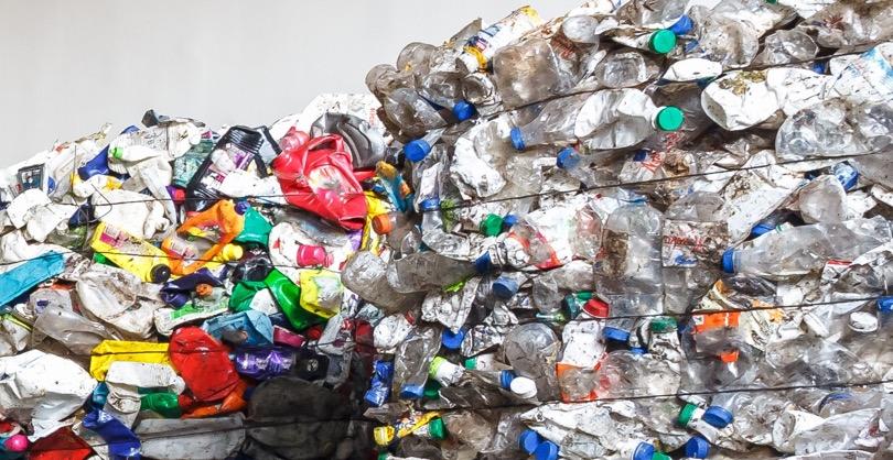 riciclo bottiglie PET