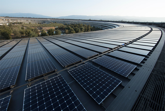 apple fotovoltaico