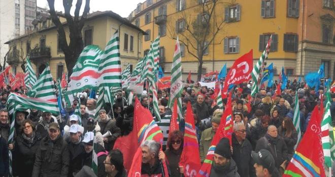 manifestazione chimici Milano