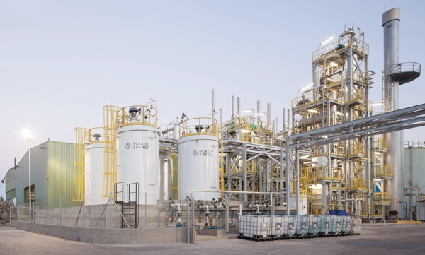 Plastic Energy impianto Spagna
