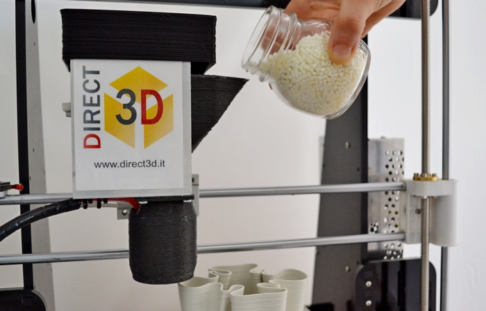 Direct 3d stampante