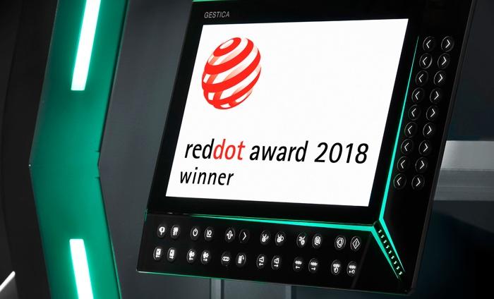Gestica red dot award