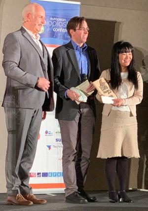 premiazione bioplastics awards 2018