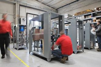 Eurochiller costruzione termoregolatori