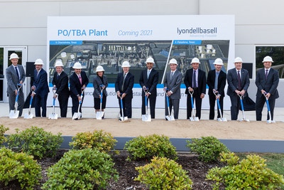 LyondellBasell inaugurazione PO/TBA