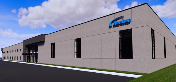 nordson stabilimento Chippewa Falls rendering