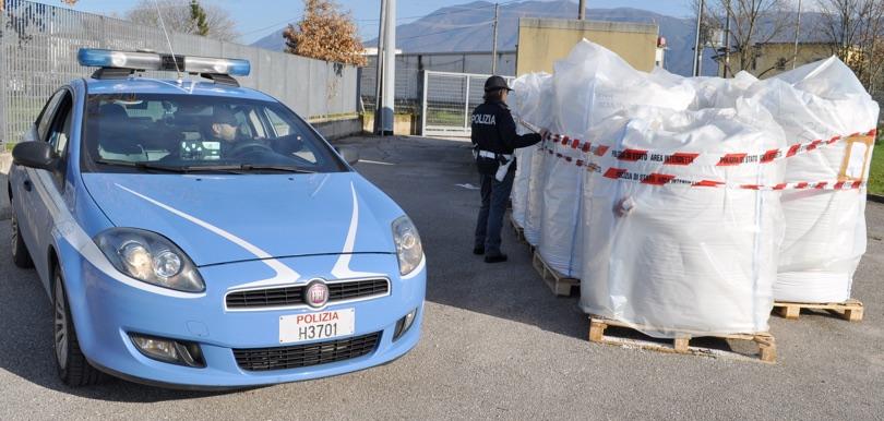 Polizia furto PVC Campania