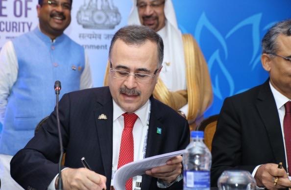 firma accordo india Saudi Aramco