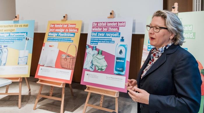 Ministro dell'Ambiente tedesco Svenja Schulze