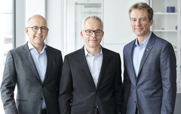tre direttori alla Ensinger