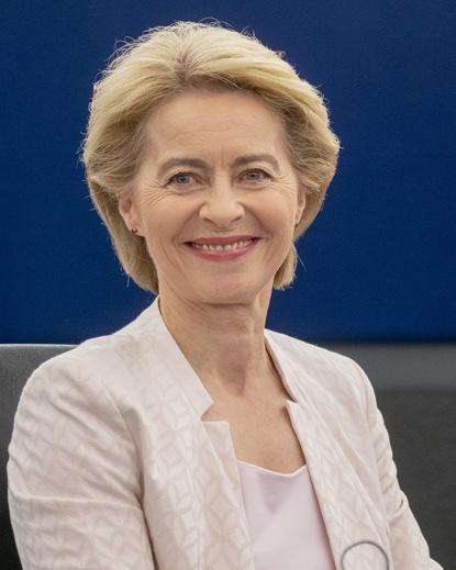 Ursula von der Leyen Presidente commissione europea