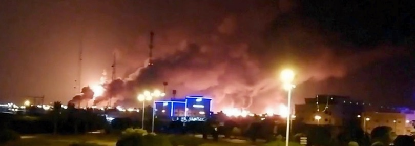 attacco droni raffnerie saudi aramco