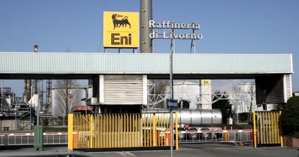 eni raffineria Livorno