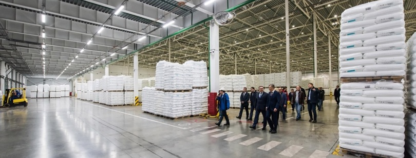 Sibur hub logistico Vorsino