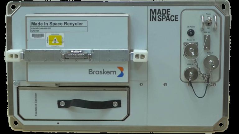 Braskem Recycler Made in Space