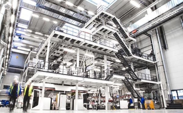 Windmöller & Hölscher centro tecnologico estrusione