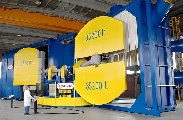 Caccia Engineering stampaggio rotazionale