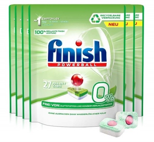 Finish pouch