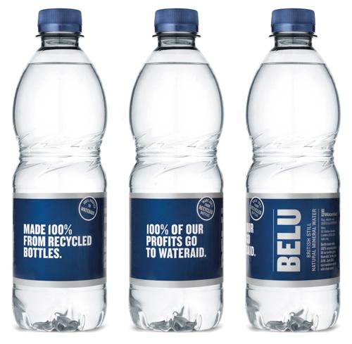 Bel bottiglia 100% rPET