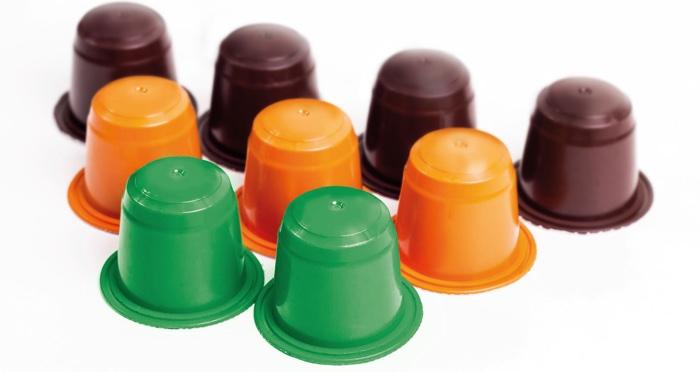 Clarian pigmenti bioplastiche capusle caffe