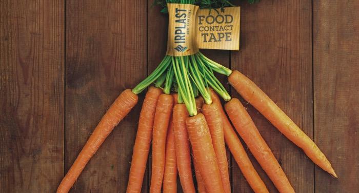Irplast nastro etichetta contatto alimentare