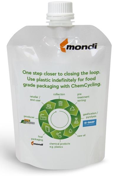 Mondi Cooros BASF ChemCycling