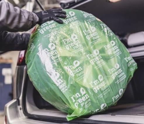 Nokian Tyres custodie polietilene verde