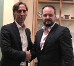 Jordi Sala i Llado?, CEO di Bianna Recycling e Mauro Drappo, CEO di Amut Group