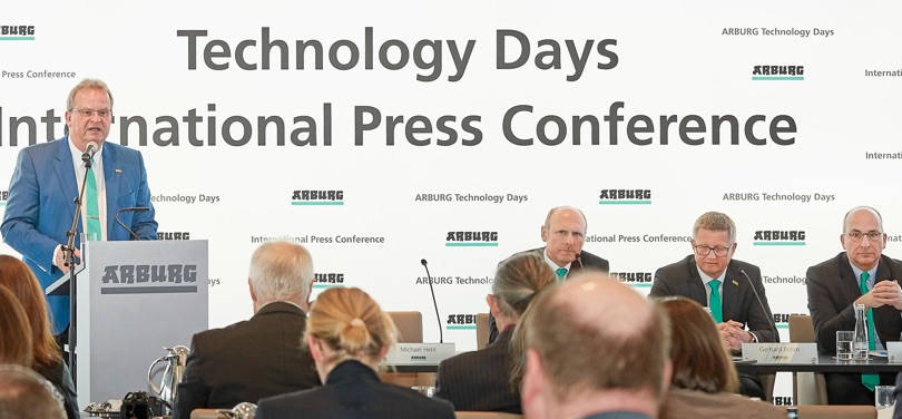 Arburg conferenza stampa