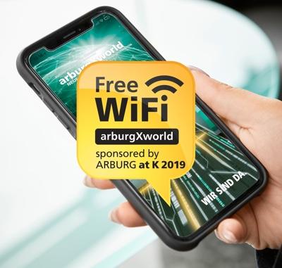arburg wi-fi free K2019