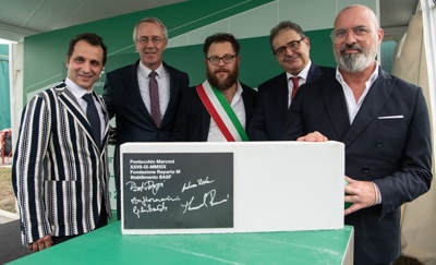 BASF posa prima pietra Pontecchio Marconi