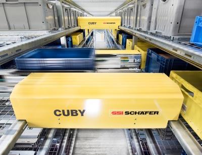 Cuby Camozzi hub logistico