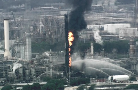 ExxonMobil incendio texas