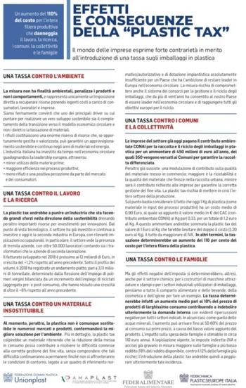 manifesto plastics tax