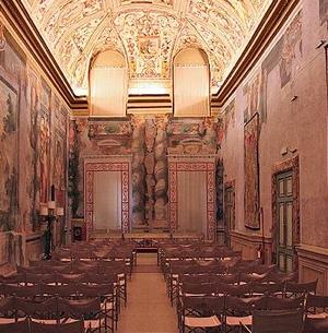 sala zuccari senato