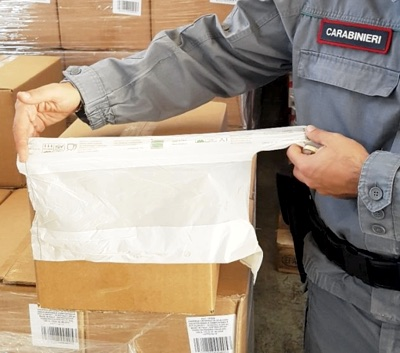 sequestro shopper Carabinieri