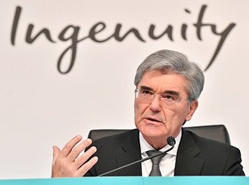 CEO Siemens Kaeser