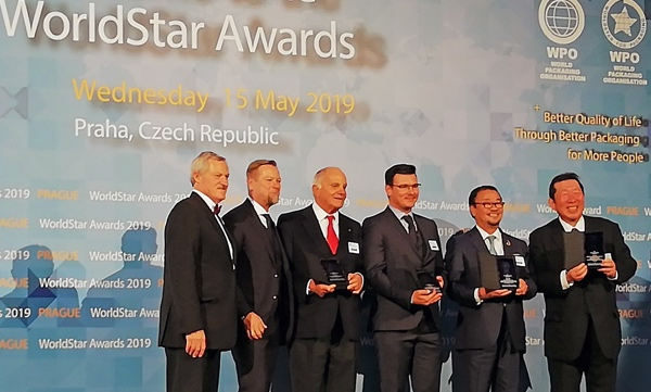 SIPA premiazione World Star Packaging Award